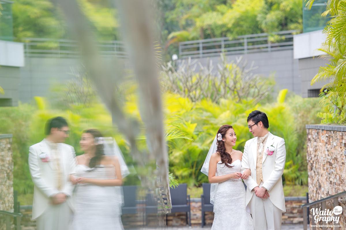 wonderful lawn wedding in hk