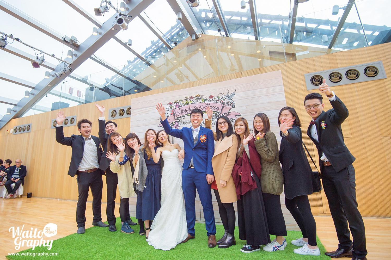 Say Hello at Bethanie church hk wedding