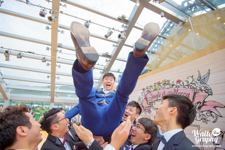 Funny moment of a HK wedding at 伯大尼 Bethanie church Hong Kong
