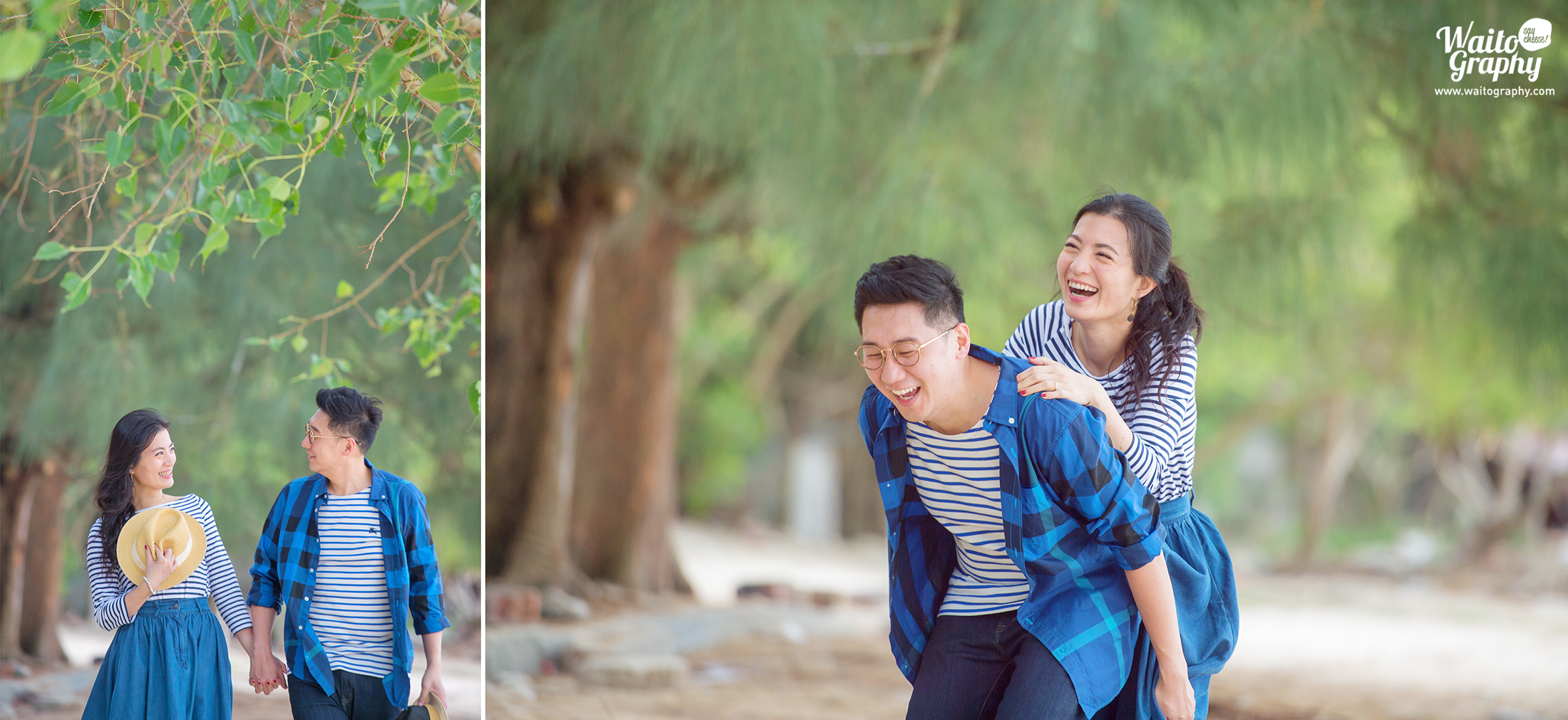 Engaged couple who loves natural and bright engagement prewedding photography captured by wedding photographer in HK