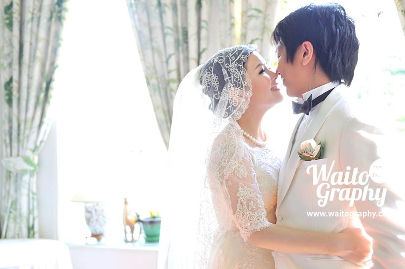 Nicole and Kwun Wedding Day HK