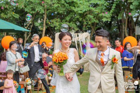 Irene and Howard Wedding Day HK
