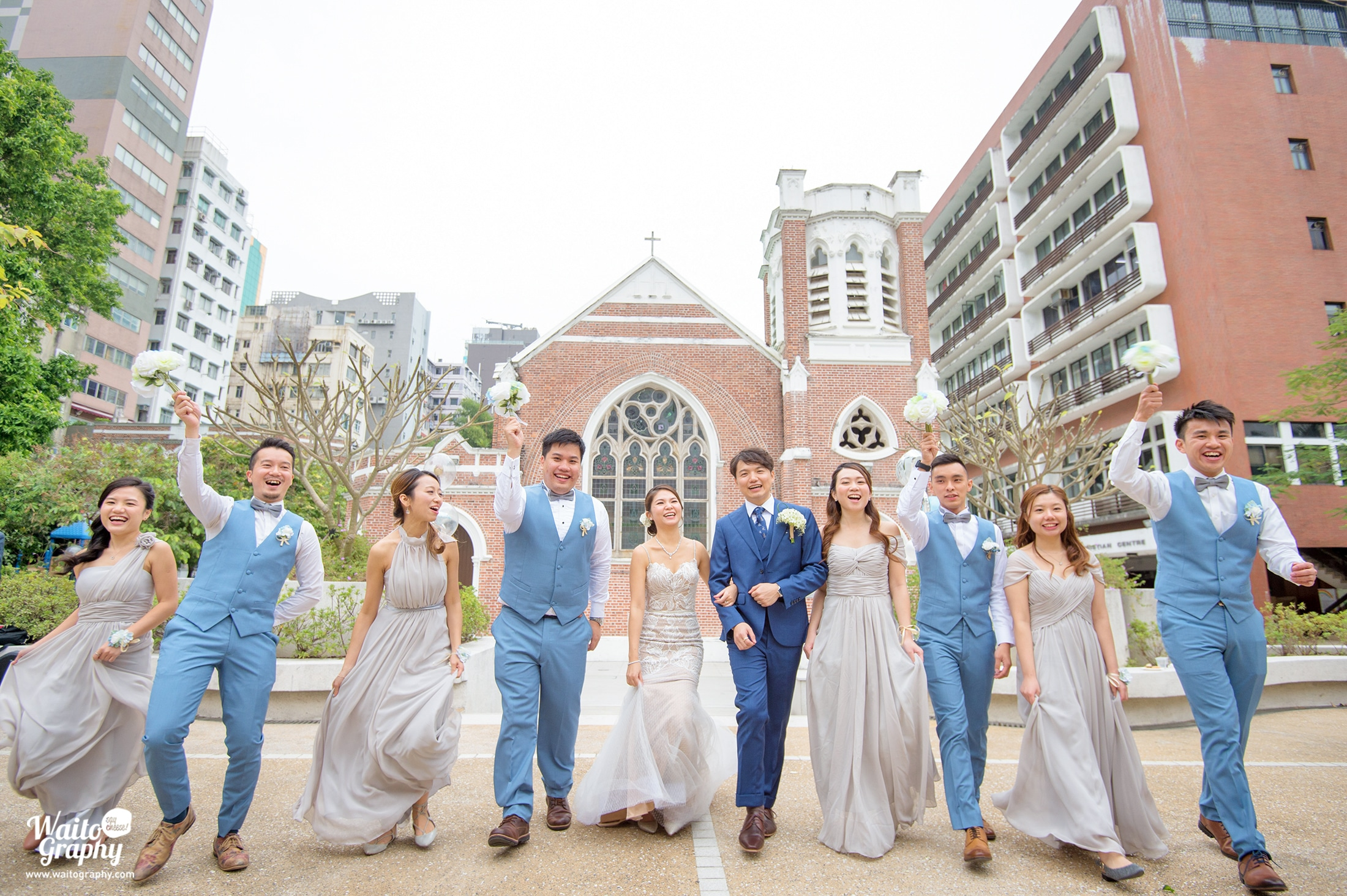Katrina & Alex Wedding Day HK 聖安德烈堂 St. Andrew's Church Kowloon