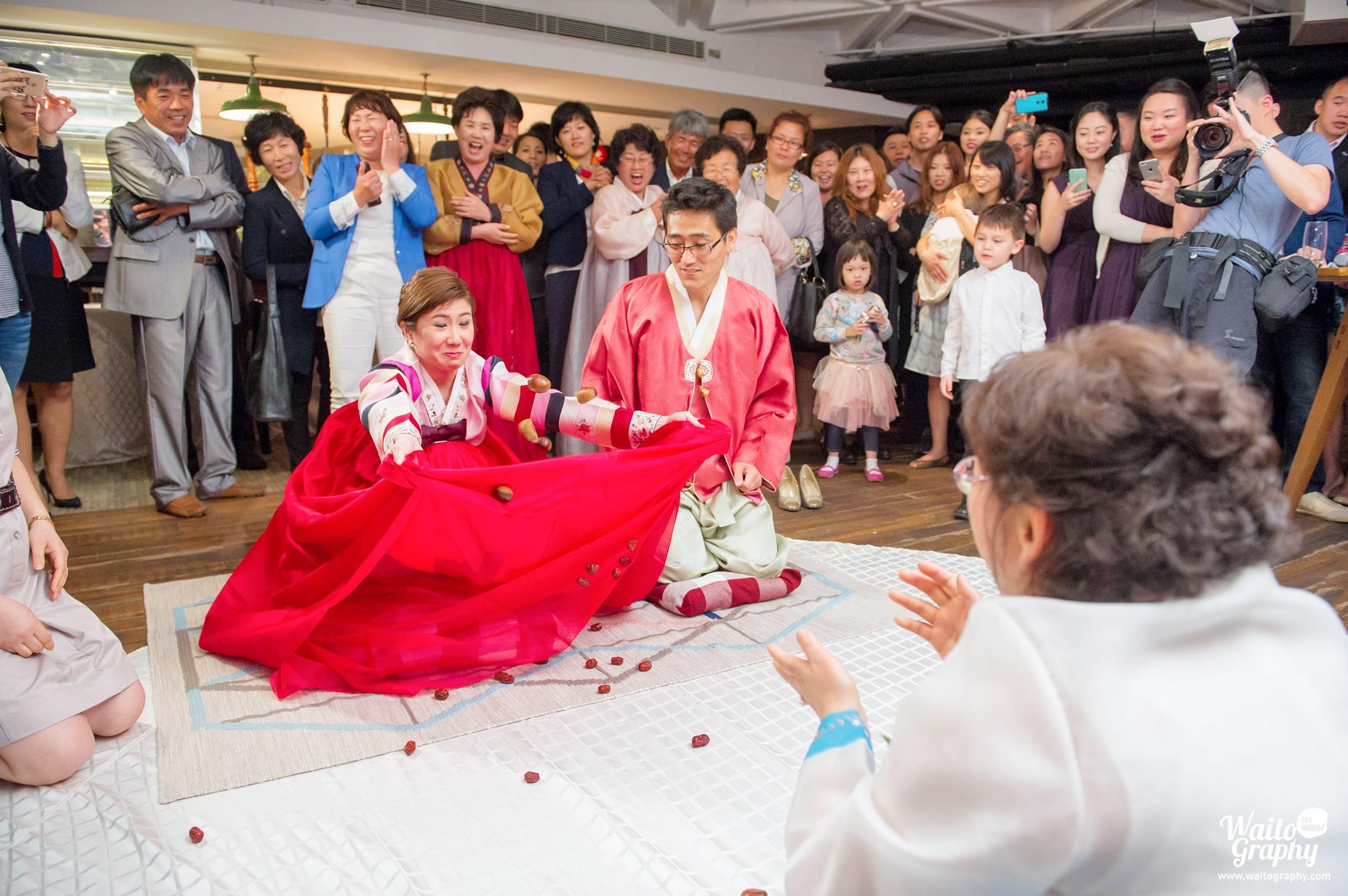 Mary & Heewoo Korean Wedding Day HK Assaggio Trattoria Italiana