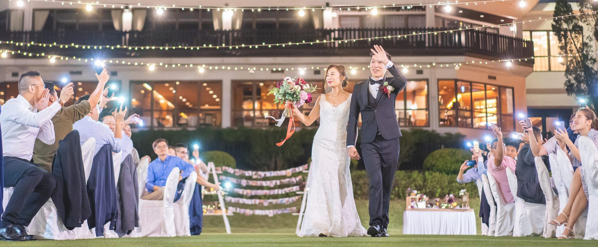 wedding day at hong kong beas river country club